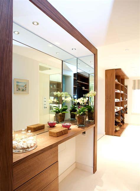 bespoke dressing table  walnut dressing table design