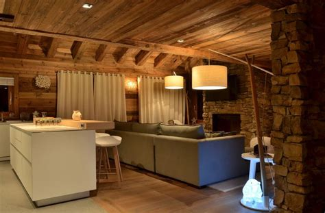 Chalet Style by Deco Int 233 Rieur Chalet Moderne Cosy Neve Design