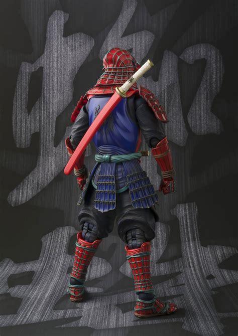 spider 3 figures samurai spider meisho realization figure