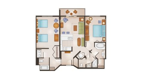 saratoga springs disney floor plan disney saratoga springs 2 bedroom villa 28 images