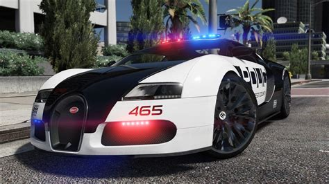 police bugatti bugatti veyron pursuit police add on replace