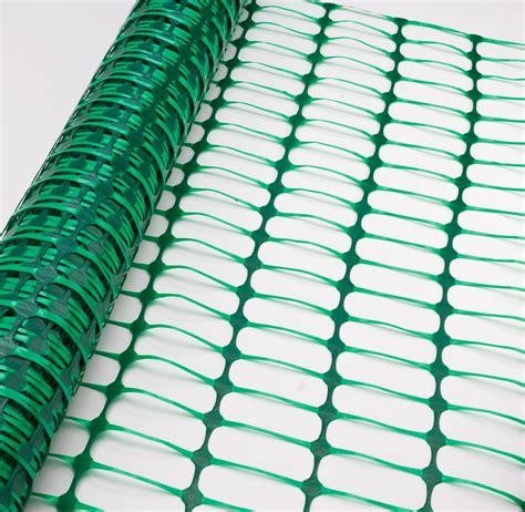 Kenmaster Plastik Stand Meter Pln Orange schutznetz bauzaun absicherungszaun gr 252 n 30 x 1 meter