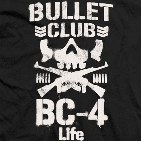 Kaos Bullet Club Bc 4 Live new japan pro co ltd official apparel t shirt shop