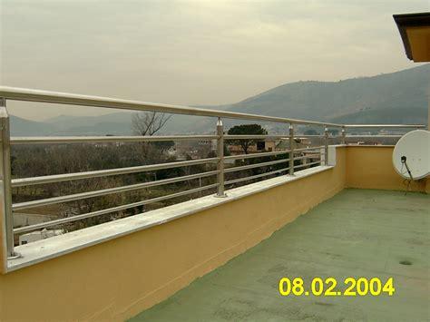 ringhiera balcone ringhiera per balcone in acciaio inox