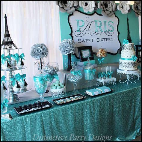 blue sweet sixteen decorations sweet sixteen decorations sweet sixteen paris style birthday birthday party ideas