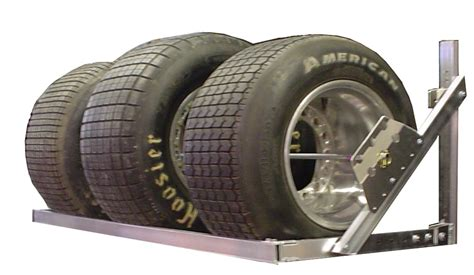 Tires Rack by Pit Products 6 6ft Aluminum Tire Wheel Rack Race Car