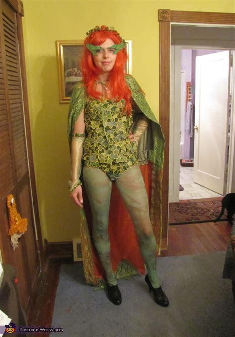 batman robin  poison ivy costumes original diy