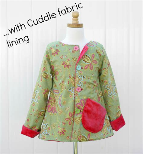 jacket pattern reversible jacket sewing pattern whimsy couture sewing patterns products