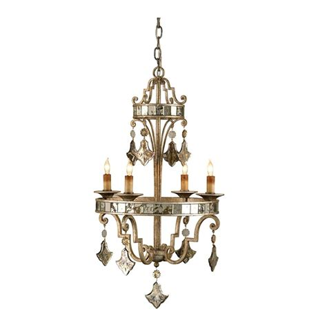 Mirrored Chandelier Mirrored Fleur De Lis Chandelier