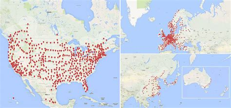 tesla charging stations map trade exhibition b2bmanufactures