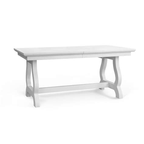 furniture trestle dining table white trestle dining