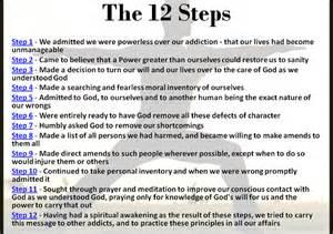 12 steps na
