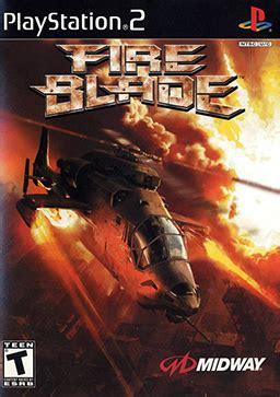 fire blade (video game) wikipedia