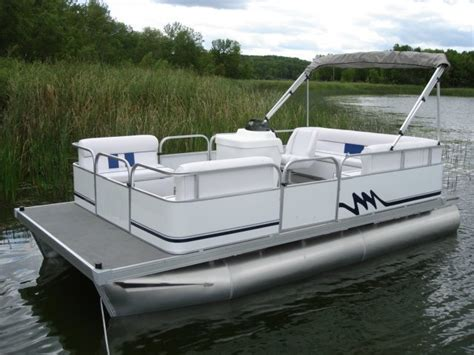 20 ft pontoon boat home page of logoboats 8 foot wide by 19 foot long pontoons