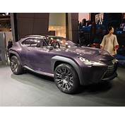 Lexus UX Concept  Luxury Compact Crossover Debuts In