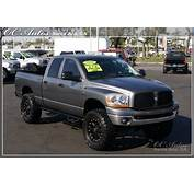 Lifted Silver Grey Dodge Ram 2500 Truck  Dream Grages W/ Cars