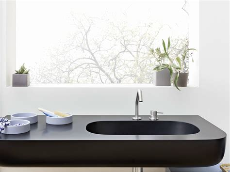 corian oberfläche esperanto lavabo con piano by rexa design design