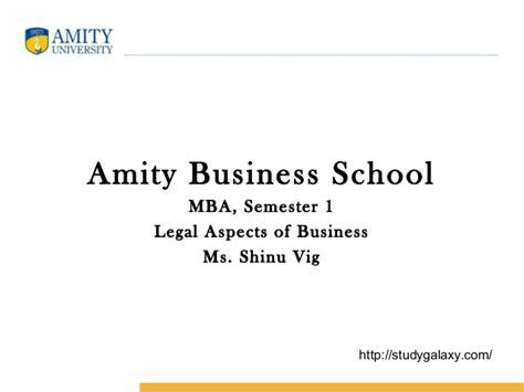 Amity Business School Mba by Amity Business School