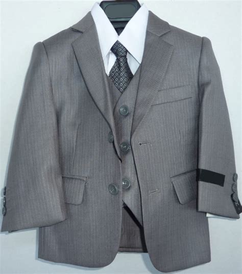 light grey toddler suit toddlers deluxe light gray suit