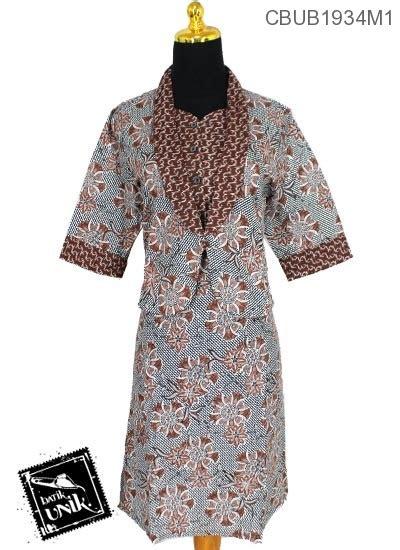 Dress Katun Anak Motif Size 1 baju batik dress katun motif kembang alur dress murah
