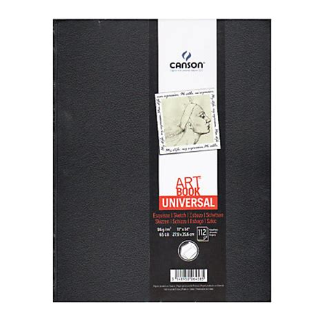 sketchbook canson one canson book universal sketchbook hardbound 11 x 14 by