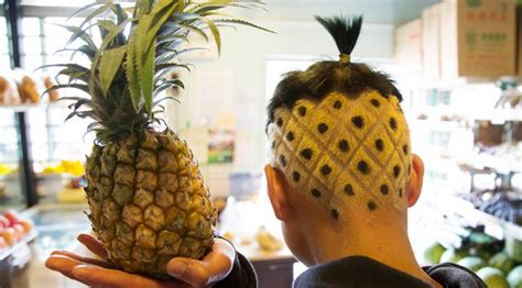 pineapple hairstyle pineapple haircut pictures newhairstylesformen2014 com