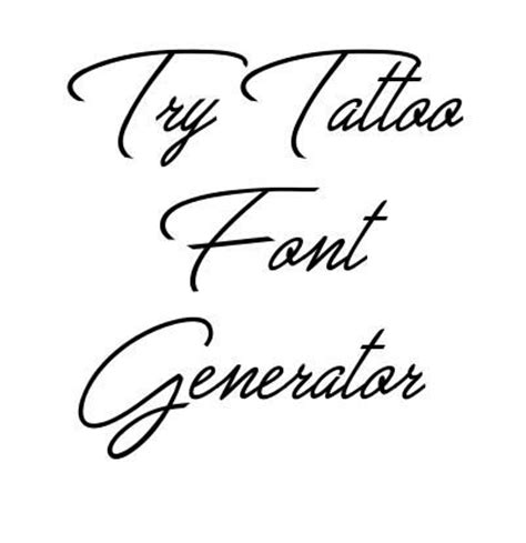 tattoo yourself generator 1000 ideas about tattoo fonts generator on pinterest