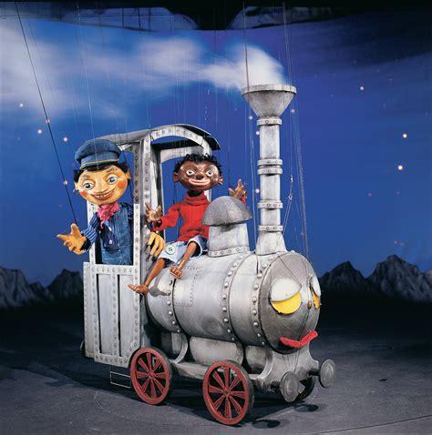 marionette jim knopf jim knopf und lukas der lokomotivf 252 hrer im mai im