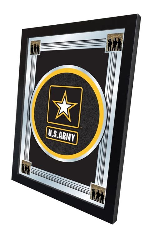 us army logo mirror