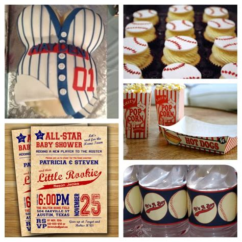Baseball Baby Shower Ideas by Baby Boy Baseball Themed Baby Shower Baby Shower Ideas