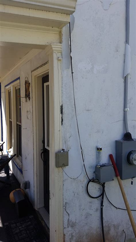 gap between and wall caulking how can i fill a gap between the exterior wall