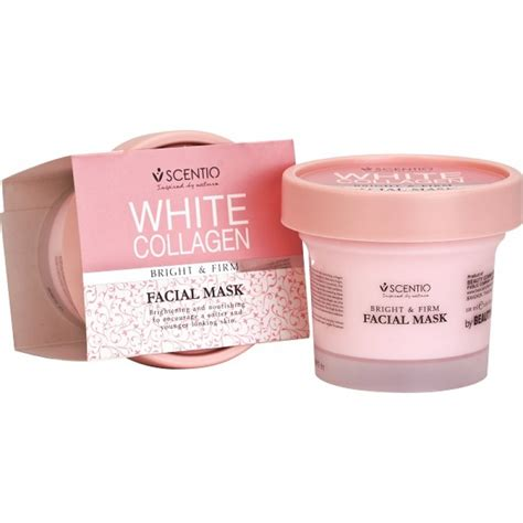 Masker Pemutih Wajah Vire Mask Original scentio white collagen bright firm mask jual kosmetik original thailand