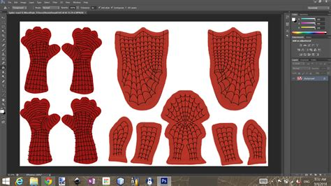 spiderman costume pattern file spiderman suit pattern download