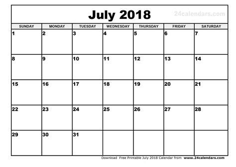 printable calendar july 2018 printable calendar july 2018 cute larissanaestrada com