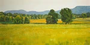 Sale Duvet Landscape Art Print Oil Painting For Sale Fields Painting