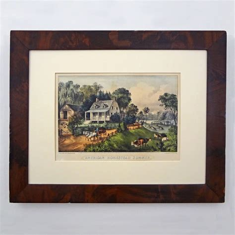 currier and ives best 50 american homestead summer currier ives best 50 hand