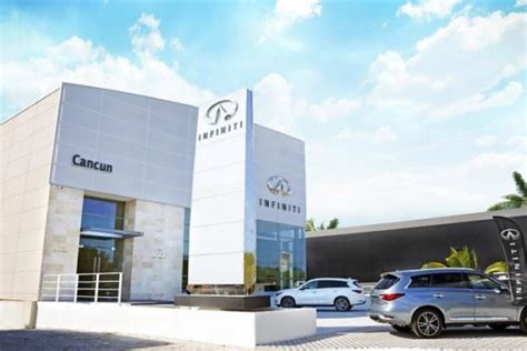 infiniti auto dealership infiniti opens auto dealership in cancun the yucatan times