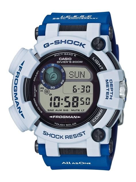 G Shock Frogman I C E R C Gf 8250k 販售預告 海洋共生 g shock x i c e r c 25 周年紀念 gwf d1000k 7