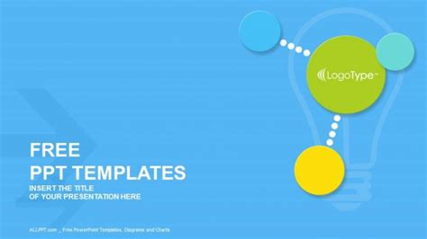 free modern powerpoint templates colorful modern circles powerpoint templates