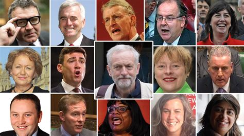 Labour Shadow Cabinet by Who S Who In The New Look Labour Shadow Cabinet Itv News