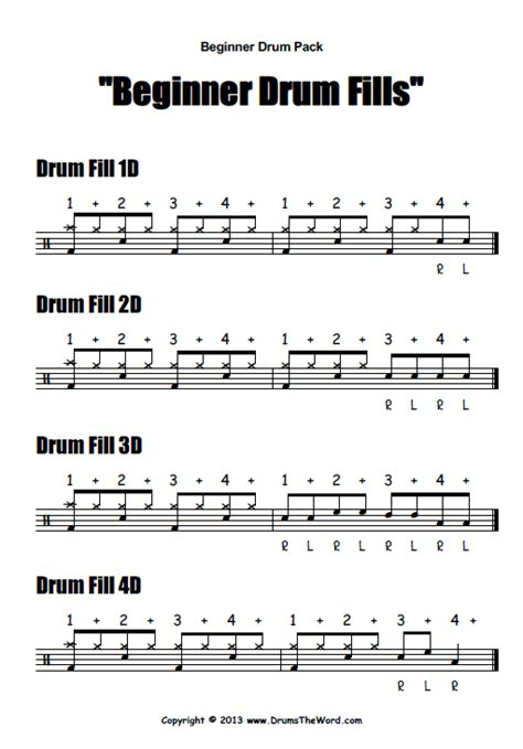 drum pattern lesson quot beginner starter quot video pack drumstheword online