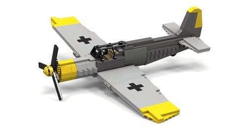 Mini Wolrd Wap Etnos Wacth lego wwii bf 109