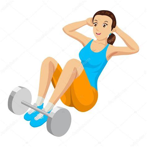imagenes fitness dibujos ejercicio de gimnasio vector de stock 169 rudall30 68537909