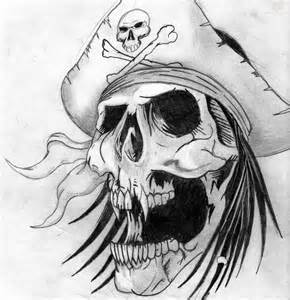 best 25 pirate skull tattoos ideas on pinterest skull