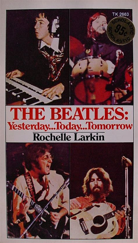 yesterday books the beatles yesterday today tomorrow book 1974