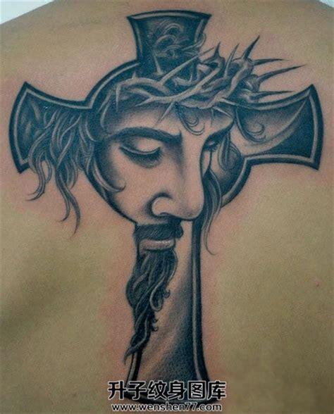 camo face tattoo 男性背部耶稣十字架纹身 升子纹身520
