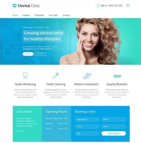 36 Dental Website Themes Templates Free Premium Templates Dentist Website Template