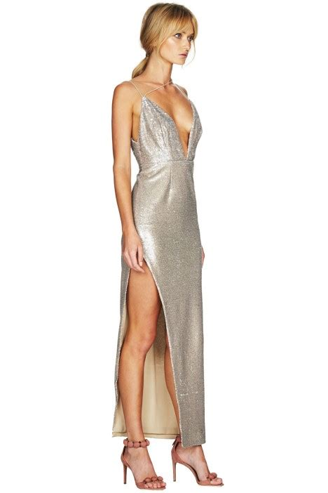 Goldy Maxy Dress goldie maxi dress by talulah for hire glamcorner