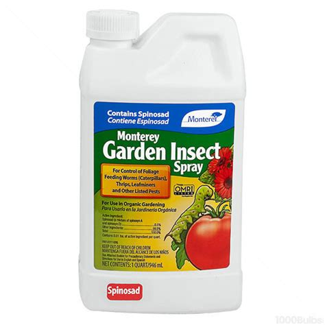 Monterey Garden Insect Spray by Monterey Garden 704607 Insect Spray 1 Qt