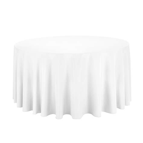 table with white tablecloth white table cloth cover 120 inch ebay